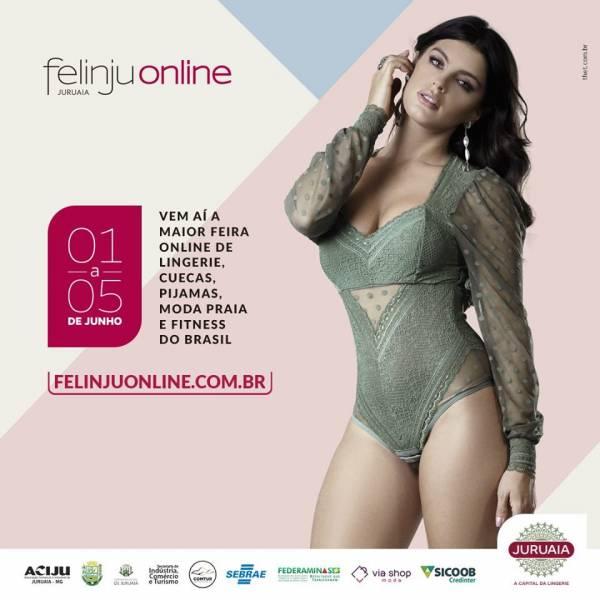 Tradicional feira de lingerie de Juruaia será on-line