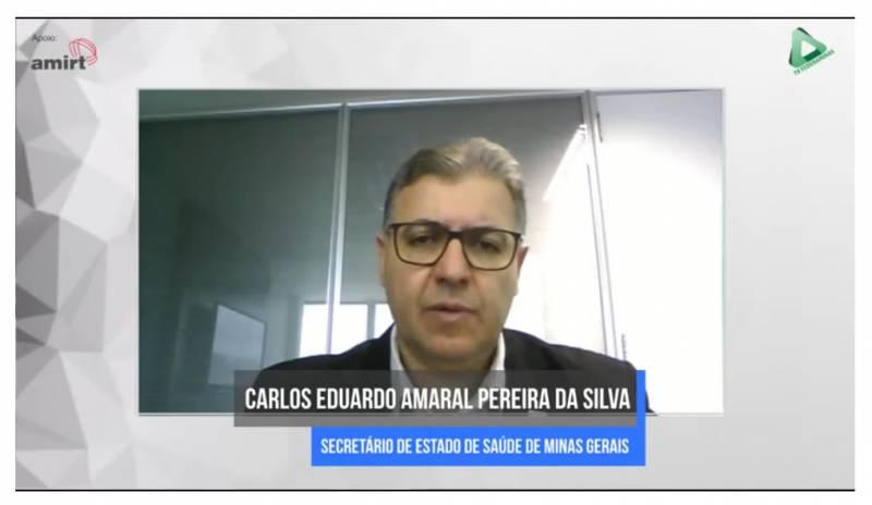 Secretário de Saúde esclarece dúvidas sobre ampliação do Minas Consciente em live da Federaminas
