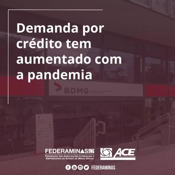 Demanda por crédito tem aumentado com a pandemia