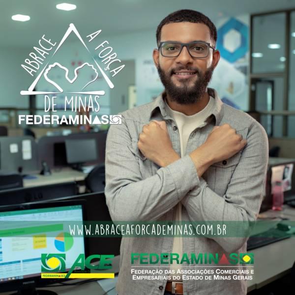Campanha ABRACE A FORÇA DE MINAS ganha apoio na capital e no interior
